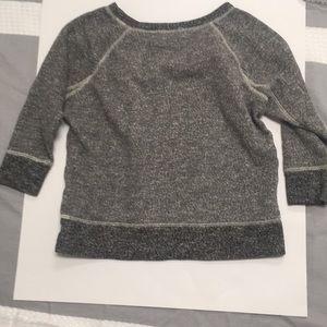 Madewell Sweaters - Madewell Hi-Line smokeshadow sweatshirt Grey